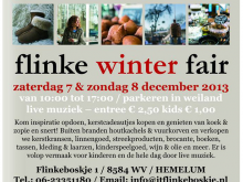 Flinke Winterfair 7 en 8 december 2013