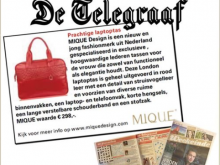 Mique in de Telegraaf